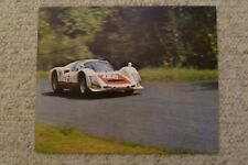 1967 Porsche 906 Carrera 6 Coupe Showroom Advertising Poster RARE!! Awesome L@@K