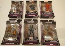 Marvel Legends Guardians Of The Galaxy Infinite Series lot Groot BAF