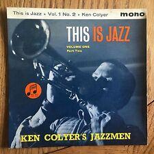 "Ken Colyer's Jazzmen - This Is Jazz Volume One, Part 2 UK 1960 7"" E.P. Columbia"