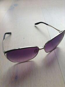Barton Perreira Silver Tone & Purple Rimless Sunglasses, RRP £450,Worn 2 times