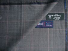 """DORMEUIL 95% WOOL + 5% CASHMERE """"VINTAGE"""" SUITING FABRIC """"CASHMERE TOWNTX""""-3.5 m"""