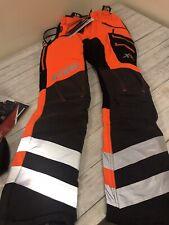 New boxed Stihl chainsaw trousers Xfit design A cl 2 size S waist 27-30 braces
