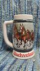Anheuser Busch Budweiser Clydesdales 50th Anniverasary Handcrafted Beer Stein