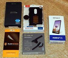 Lg Stylo 4 - 32Gb Black Unlocked Smartphone 4G Lte Enabled + Accessories Bundle