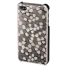 Hama Handy-Cover Metal für Apple iPhone 4/4S silber Schutzhülle Tasche Hardcase