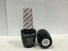 OPI Gelcolor GC T63 Chiffon My Mind Soft Shades Sheer White GEL Polish Auth