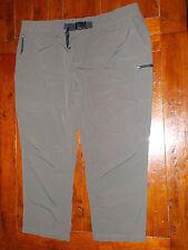 Men's Tek Gear Element Series Pants 4XB olive green 52x32 belt water resistant