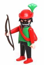 Playmobil Figure Castle Medieval Merry Men's Hideaway Archer Bow Arrows Hat 3626