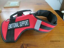 XL Reflective soft harness with handle
