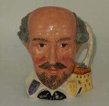 "7"" Hugh Royal Doulton Shakespearean Collection William Shakespeare Character Jug"