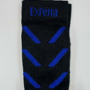 Thorlos EXPERIA Crew Socks Unisex Size X-Small Padded Coolmax in Jet Royal NWT