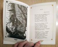 R 1976 rare soviet ussr Poetry book russian poem literature illustration стихи