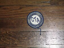 chicago transit authority  patch, new old stock 1960's,