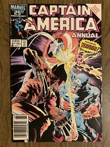 Captain America Annual #8, Issue  Wolverine; Mike Zeck Art; 1st Tess One