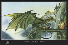 DRAGONSPELL - FANTASY ART POSTER - 24x36 ACHILLEOS DRAGON 2086