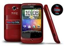 HTC WILDFIRE ROT (Ohne Simlock) Smartphone Wlan 3G GPS Radio 5MP GUT OVP