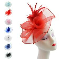 Large Hat Fascinator Ladies Day Races Ascot Aliceband Clip Hat Head Piece