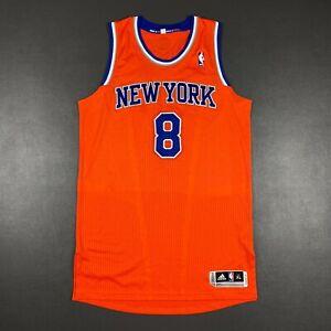 100% Authentic JR Smith Adidas Knicks Jersey Size XL 48 Mesh # pro cut - carmelo