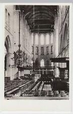 (53590) Foto AK Alkmaar, Grote Kerk, Interieur, nach 1945