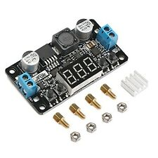 DROK LM2596 Digital Control Voltage Regulator DC Buck Converter Power Supply