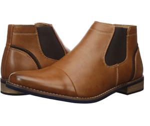 Deer Stag Men's Dress Comfort Casual Fashion Cap Toe Chelsea Boot, 11.5 M US