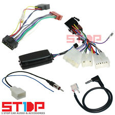 TOYOTA HILUX 2012-2015 STEERING WHEEL CONTROL HARNESS ISO PATCH ANTENNA ADAPTER