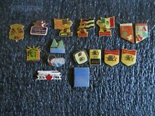 1984 Los Angeles Olympics Pins  Lot of 11 Plus Other Misc. Nice