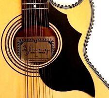Hummingbird Style Acoustic Guitar Pick Guard  Black