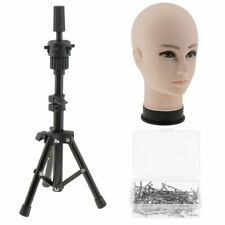 22 Inch Mannequin Manikin Head Hair Wig Making With Tripod Stand 100Pcs T Pins