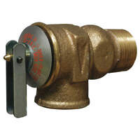 CASH ACME F-30 Safety Relief Valve,3/4 In,30 psi,Brass