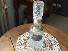 Crystal Decanter Black Douglas with Tag.