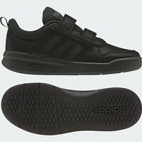 Boys Adidas Shoes Black School Strap Casual Kids Sports Trainers