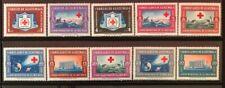 Guatemala #B9-11,CB15-21 Complete Set 1960 MNH