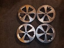 "Set Of 4 Brand New 2012 2013 2014 2015 Prius Hubcaps 15"" Wheel Covers 61167"