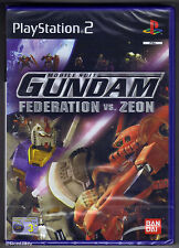PS2 Mobile Suit Gundam: Federation vs. Zeon (2002), UK Pal, New & Factory Sealed