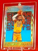 Illusions Clear Shots Blue Sapphire LeBron James Lakers Acetate Prism Refractor