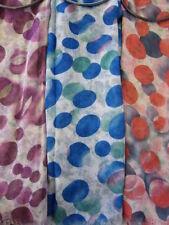 Écharpes et châles roses en polyester pour femme