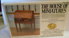 HOUSE OF MINIATURES FURNITURE KIT CHIPPENDALE DESK VINTAGE 1980
