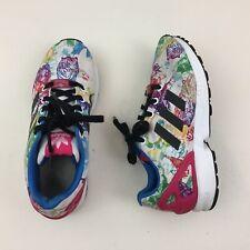 Adidas ZX Flux Torsion Women's Shoes Size 4.5 Sneakers Exotic Prints