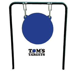 400mm Hardox 500 Steel Shooting Target Gong With Stand
