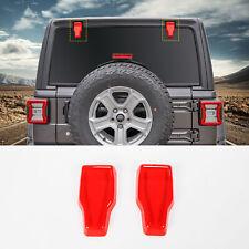 Rear Window Glass Hinge Decor Cover Trim For Jeep Wrangler JL 2018+ Accessories