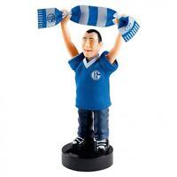 FC Schalke 04 Fanartikel Superfan mit Schal und Solarzelle Dekoration Figur neu
