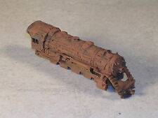 N Scale Rusted Out Abandon Steam Engine