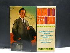 MANOLO ESCOBAR Quieo fundirme contigo .. BELTER 52228