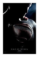 Justice League Man of Steel Superman Original DS 27x40 Movie Theater DS Poster
