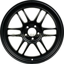 "Enkei RPF1 Wheel 18x9.5"", 15mm, 5x114.3, Matte Black for EVO 8 9 X 350Z Rim"