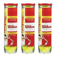 WILSON CHAMPIONSHIP TENNIS BALL ONE DOZEN BALLS free uk postage.