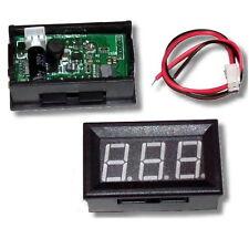 Nuevo Medidor de panel LED Verde Mini Voltímetro Digital Dc 3.2V a 30V-vendedor de Reino Unido