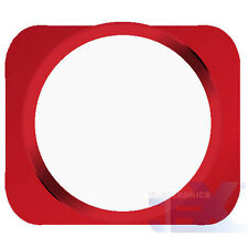 White With Red Trim iPhone 5S Style Look/Looking Home button for iPhone 5/5C