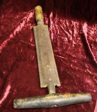 Antique Primitive Currier Screw Knife Rare